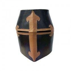 Casco Sugarloaf cuero negro 70 cm Ø