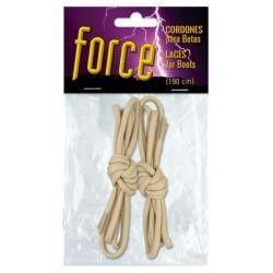 Set cordones TAN barbaric force. 190 cm