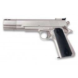 Pistola.GAS. Blanca. 6 mm.HFC