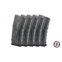 PACK 5 CARGADORES GR16(TAINTED) 105 RDS G&G (G-08-151)