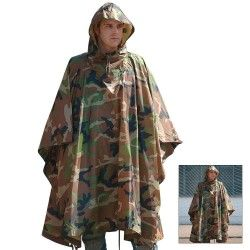 PONCHO DRIPSTOP CCE WOODLAN