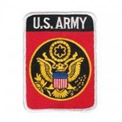 PARCHE US ZUGEHORIGKEITSABZ TEXT.US ARMY