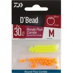 KIT PERLE RONDE FLUO