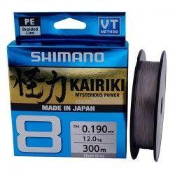 SHIMANO KAIRIKI 8 300 M 0.19MM STEEL GRAY
