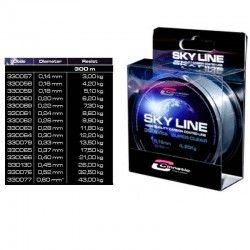 BOBINA CINNETIC SKY LINE CLEAR 300 MTS
