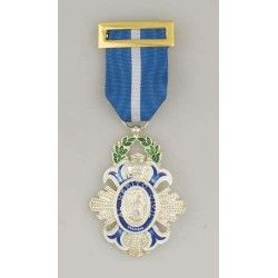 Medalla Cruz de la Orden del Merito Civi