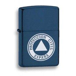 mechero azul. Protección Civil