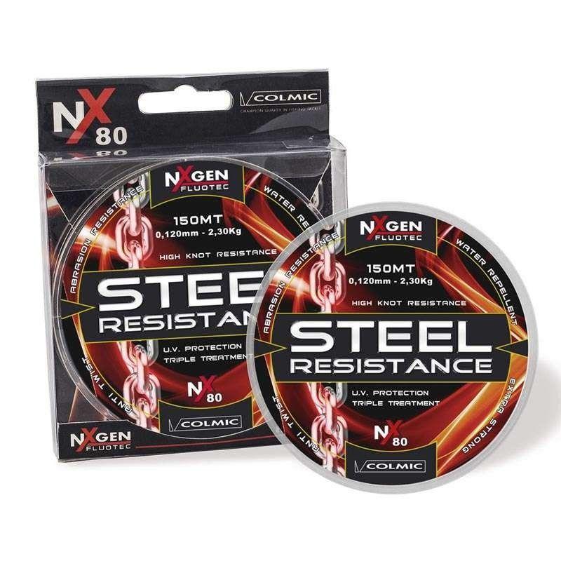 Nylon Colmic STEEL RESISTANCE NX80-300m